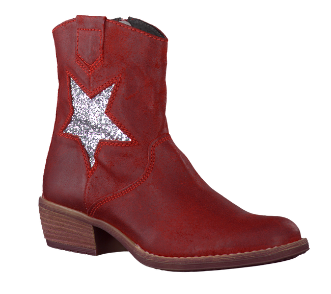 Red BULLBOXER High boots 13ADN5030 - large