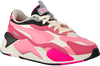 Pink PUMA Low sneakers RS-X3 PUZZLE  - small