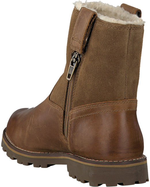 Brown TIMBERLAND Ankle boots RIDGE WARM-LINED PULL ON - large
