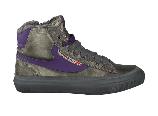 Silver DIESEL Sneakers REVOLUTION CLAW - large