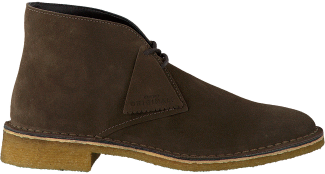 Brown CLARKS Ankle boots boots Ankle FRIYA DESERT 9f47ef