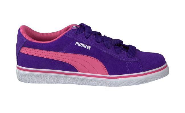 Purple PUMA Sneakers PUMA S VULC JR VETER - large