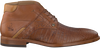 Cognac REHAB Business shoes ADRIANO - small