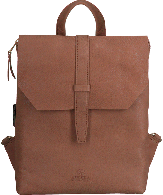 Beige FRED DE LA BRETONIERE Backpack BACKPACK M  - large