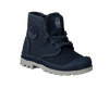 Blue PALLADIUM Ankle boots PAMPA HI KIDS - small