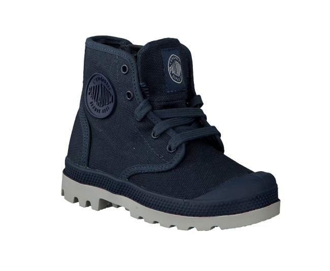 Blue PALLADIUM Ankle boots PAMPA HI KIDS - large
