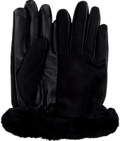 Black UGG Gloves SHORTY TECH  - medium