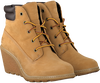 Camel TIMBERLAND Ankle boots AMSTON 6IN - small