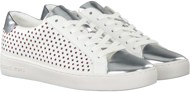 White MICHAEL KORS Sneakers IRVING LACE UP - large