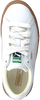 White PUMA Sneakers BASKET CLASSIC GUM DELUXE PS - small