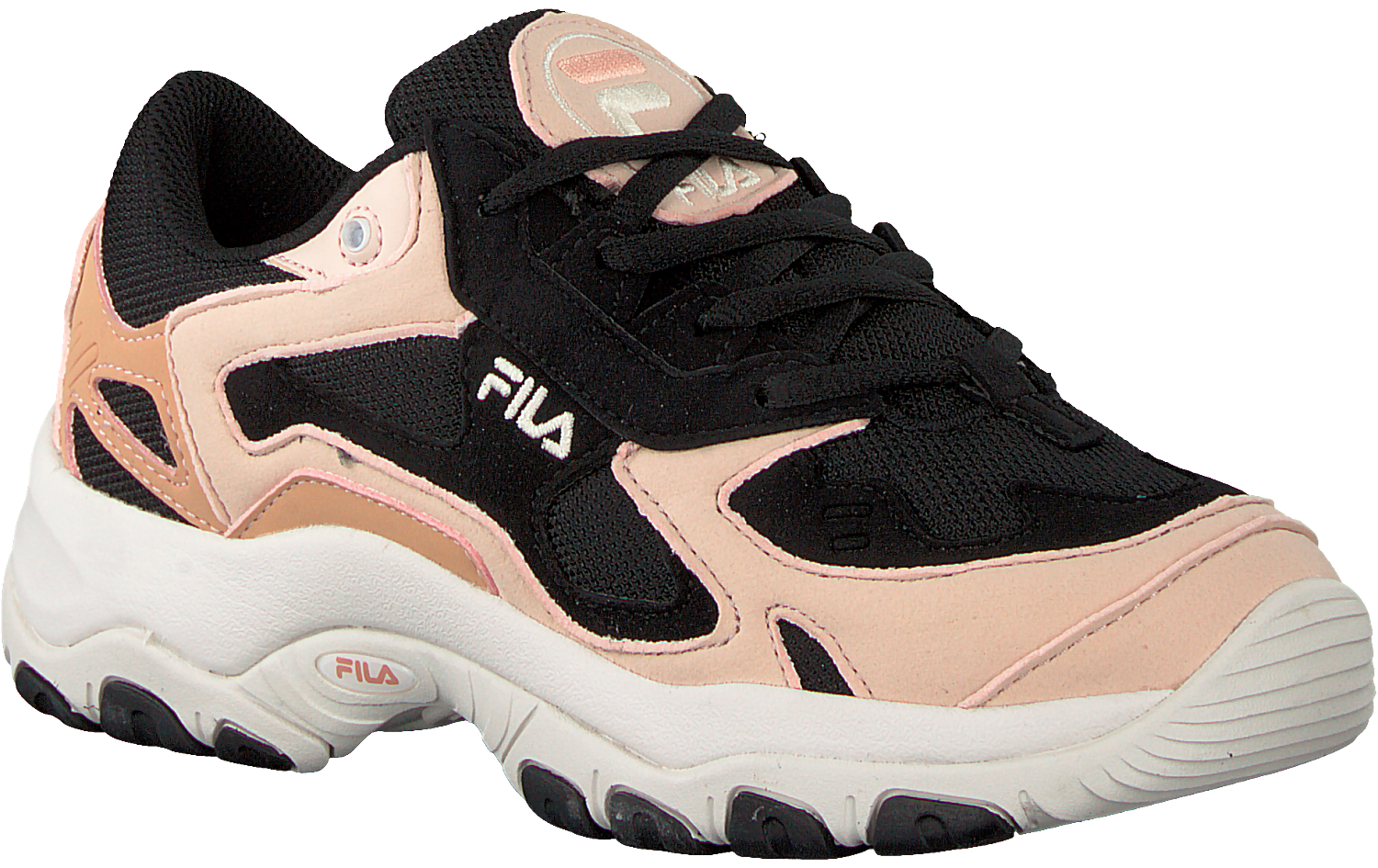 Black FILA Sneakers SELECT LOW WMN