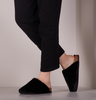 Black OMODA Slippers ELIZE  - small