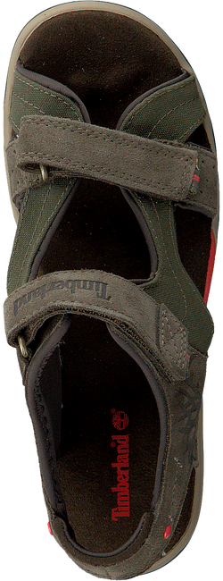 Green TIMBERLAND Sandals PARK HOPPER L/F 2 STRAP KIDS - large