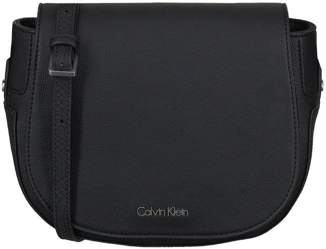 Black CALVIN KLEIN Shoulder bag NIN4 SADDLE BAG - large