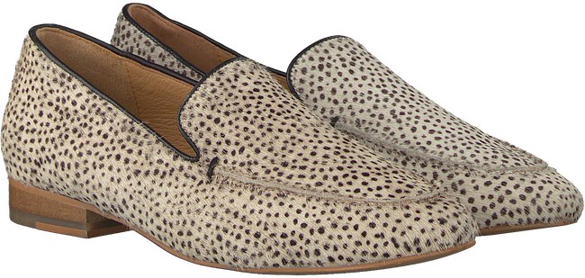 Beige MARUTI Loafers BLOOM HAIRON LEATHER - large