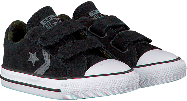 Black CONVERSE Sneakers STAR PLAYER EV 2V OX KIDS - large