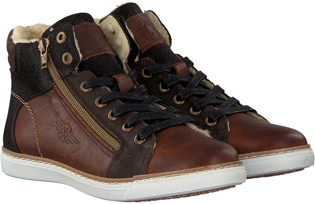 Brown BULLBOXER Lace-up boots AGM525 - large