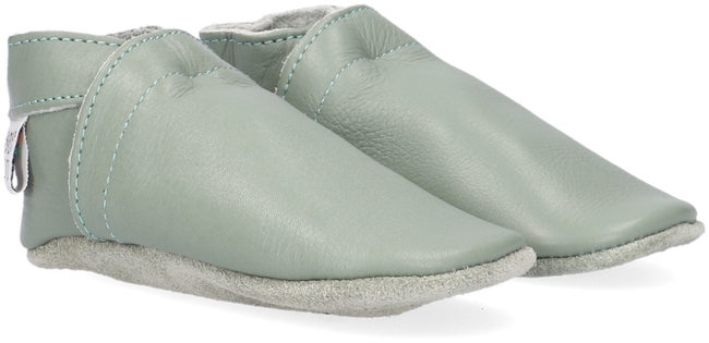 Green BABY DUTCH Baby shoes BABYSLOFJE  - large