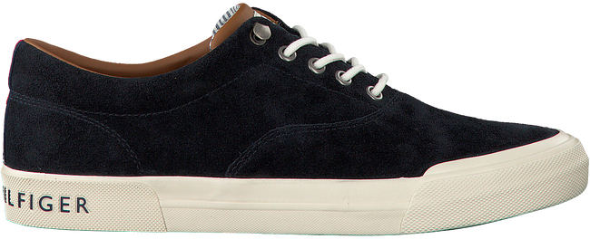 4e436eab58eb9 Blue TOMMY HILFIGER Sneakers HERITAGE SUEDE SNEAKER - Omoda.com