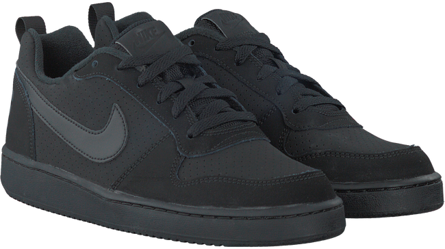 Black NIKE Sneakers COURT BOROUGH LOW (KIDS) - large
