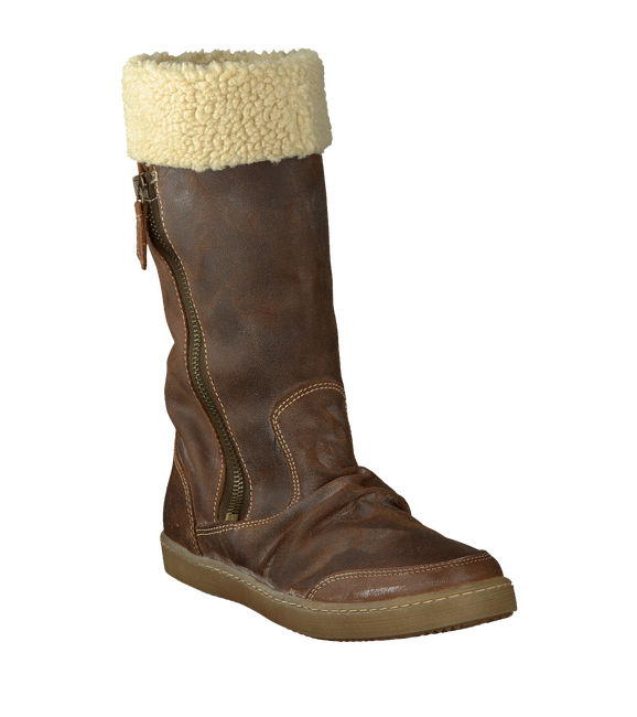 Brown BULLBOXER Fur boots ACE 505 - large