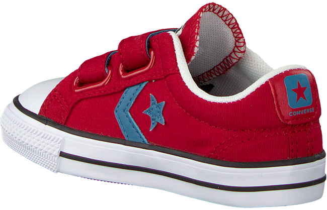 Red CONVERSE Sneakers STAR PLAYER 2V OX KIDS - large