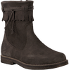 Brown LITTLE DAVID High boots FLAM 1 - small