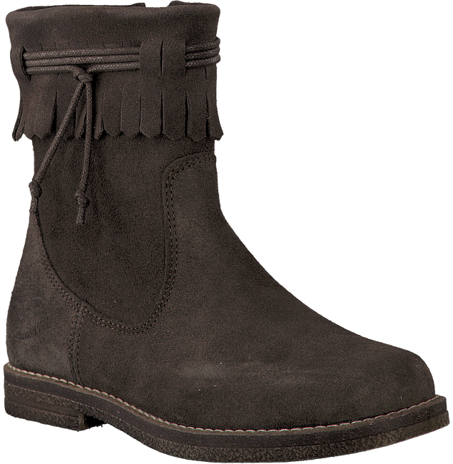 Brown LITTLE DAVID High boots FLAM 1 - large