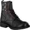 Black HIP Lace-up boots H1788 - small