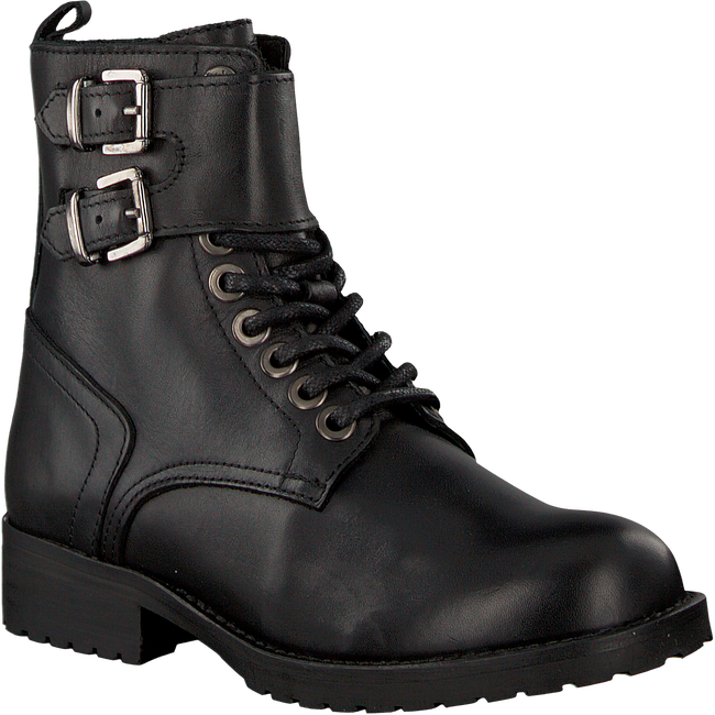 Black HIP Lace-up boots H1788 - large