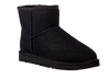 Black UGG Fur boots CLASSIC MINI - small