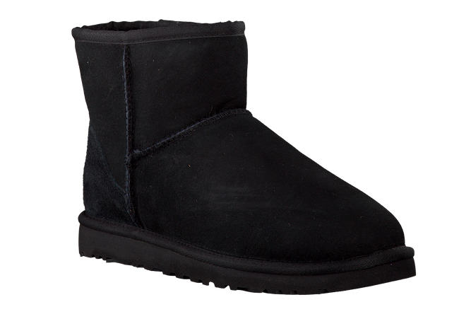 Black UGG Fur boots CLASSIC MINI - large