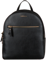 Black LOULOU ESSENTIELS Backpack 01BACKPACK CLASSY CROC  - medium