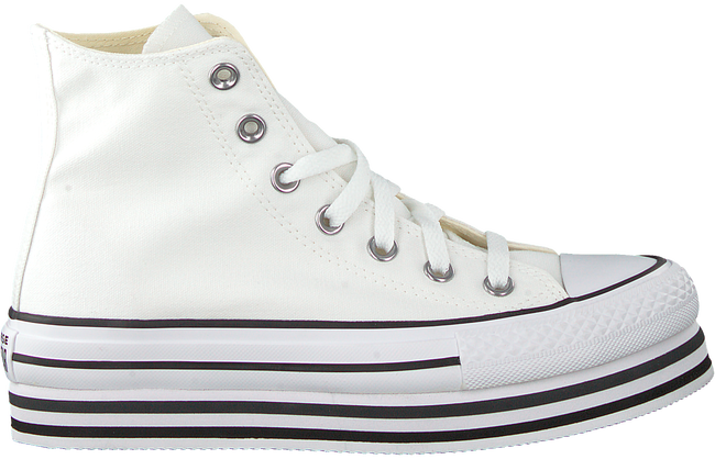 White CONVERSE High sneakers CHUCK TAYLOR AS PLATFORM LAYER