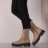 Taupe PS POELMAN Chelsea boots LPCLOKI-15A  - small