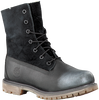 Black TIMBERLAND Ankle boots AUTHENTICS TEDDY FLEECE - small