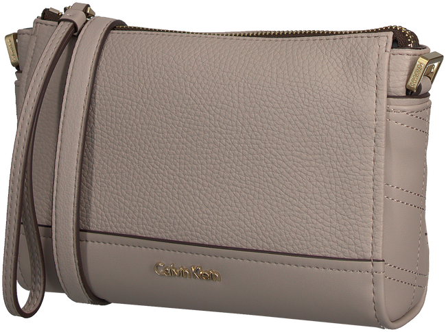 Beige CALVIN KLEIN Clutch MARIN4 CROSSBODY CLUTCH - large