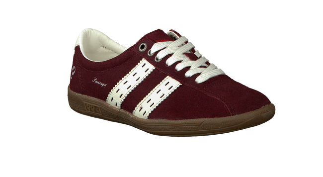 Red QUICK Sneakers SMARAGD JR - large