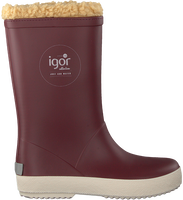 Red IGOR Rain boots SPLASH NAUTICO BORREGUITO  - medium