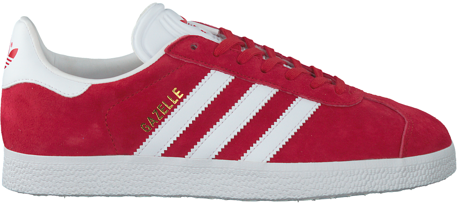 Red ADIDAS Sneakers GAZELLE DAMES - Omoda