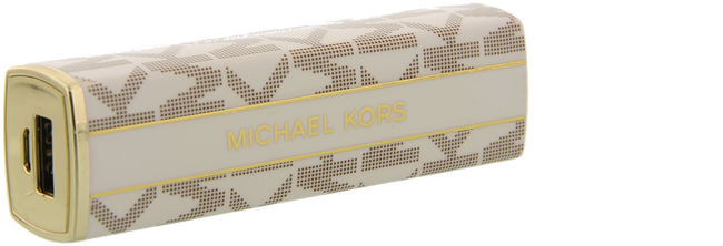 Beige MICHAEL KORS Charging cable ELECTRONICS LIPSTICK CHARGER - large