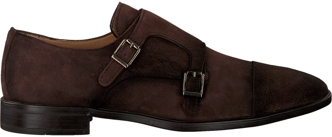 Brown MAZZELTOV Business shoes 3654  - large
