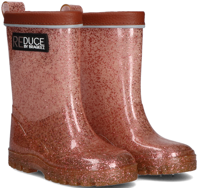 Pink REDUCE BY BRAQEEZ Rain boots RD120960  - large