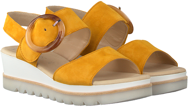 Yellow GABOR Sandals 645.1  - large