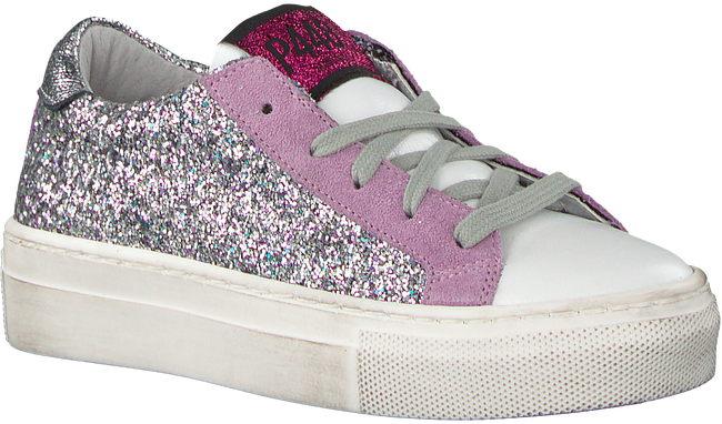 Silver P448 Sneakers THEA KIDS - large