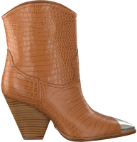 Cognac LOLA CRUZ Booties 059T45BK  - medium