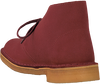 Red CLARKS Ankle boots DESERT BOOT DAMES - small
