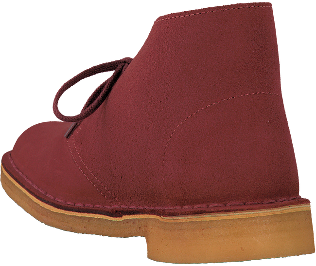 Red CLARKS Ankle boots DESERT BOOT DAMES - large