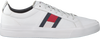 White TOMMY HILFIGER Sneakers FLAG DETAIL  - small