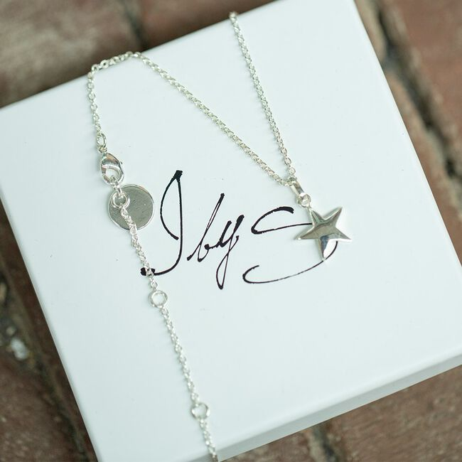 Silver JEWELLERY BY SOPHIE Necklace YOU'RE MY STAR - large